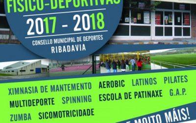 «Gestión deportiva en Ribadavia 2017/18»