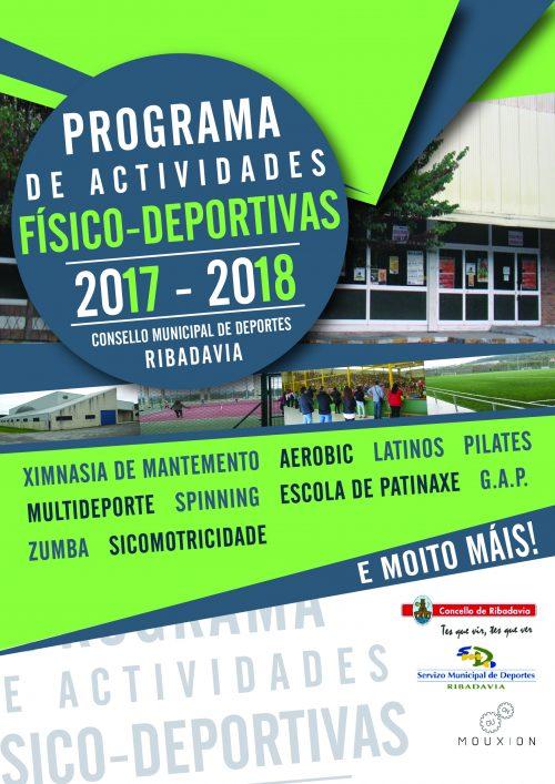 """""""Gestión deportiva en Ribadavia 2017/18"""""""
