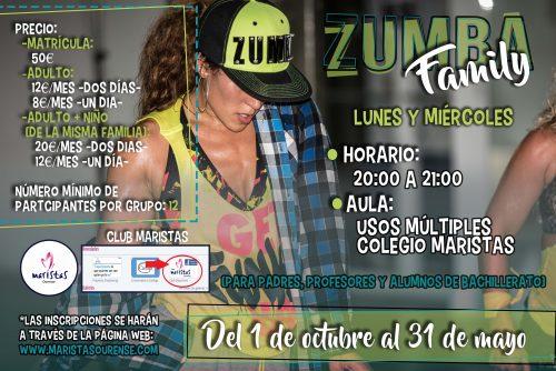"""""""Zumba Family en el colegio Maristas Ourense"""""""