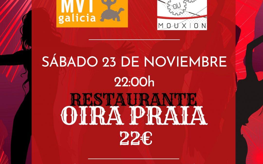 Mvt galicia prepara su cena de navidad 2019/2020
