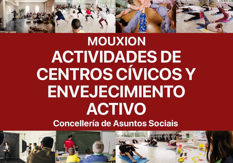 Centros cívicos del Concello de Ourense con Mouxion