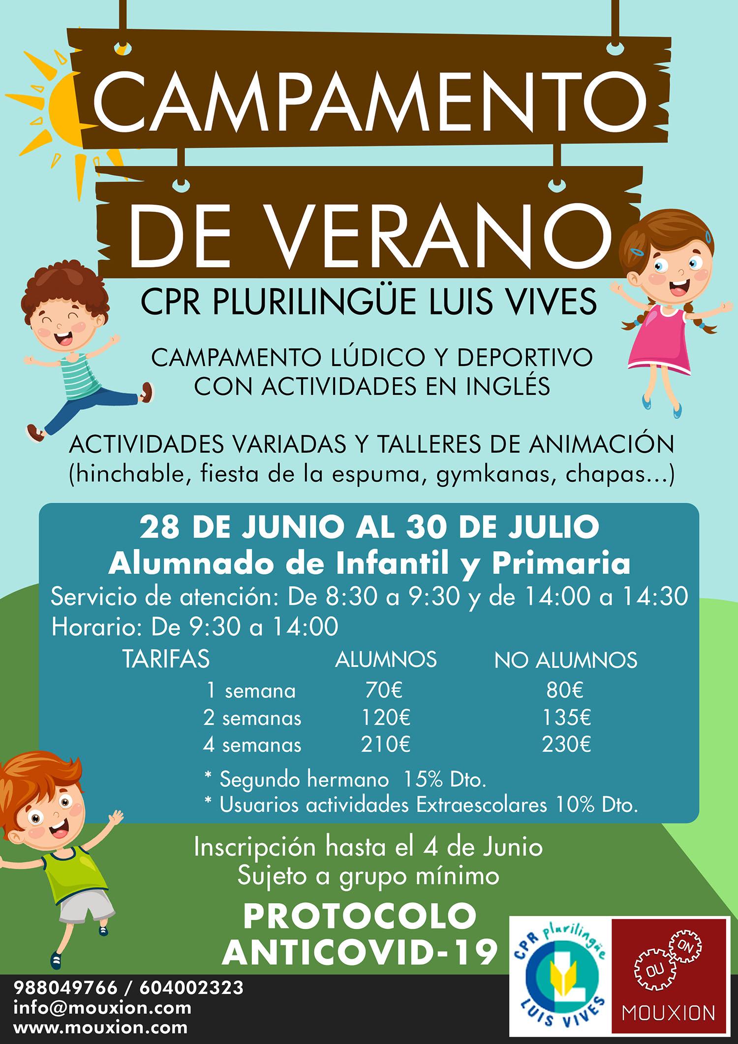 Campamento Colegio Luis Vives